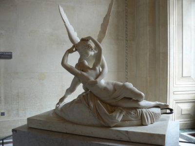 Psyche Revived by Cupid's Kiss (by Antonio Canova)