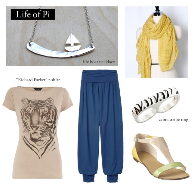Inspired by Yann Martel's Life of Pi.