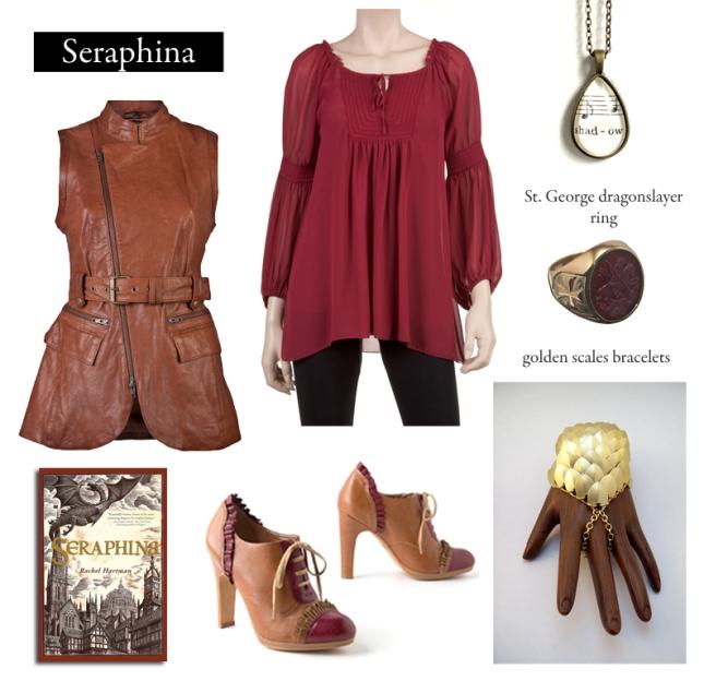 Inspired by Rachel Hartman's Seraphina.