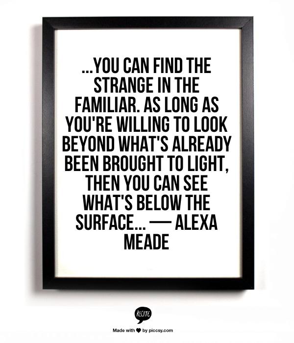 Alexa Meade quote