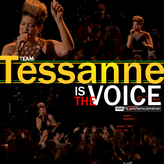 Tessanne is the Voice!
