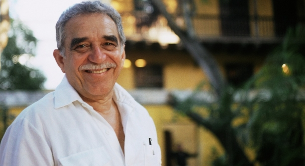 The prolific author Gabriel García Márquez.