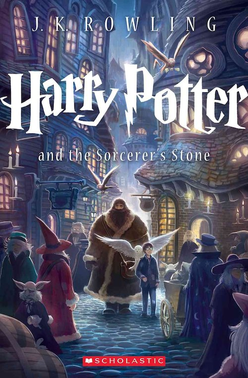 Favorite Harry Potter Book Covers (1/6)