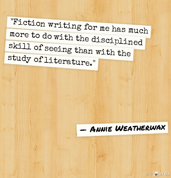 quote from Annie Weatherwax
