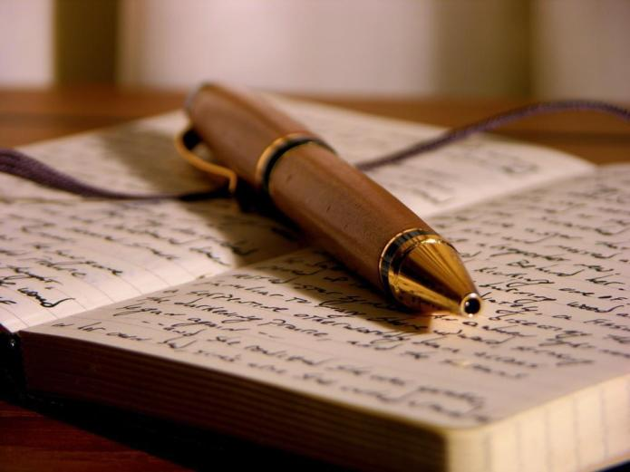 writing pen