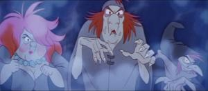Orddu, Orwen, and Orgoch from the Disney adaptation of the novel.