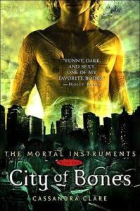 City of Bones book