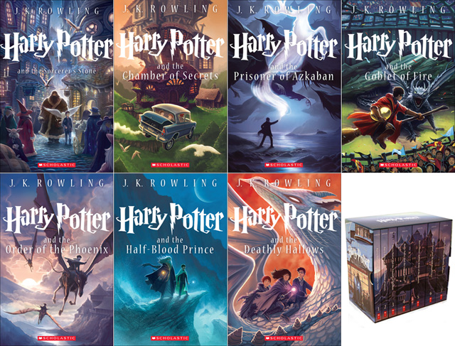 Harry Potter boxset Kazu Kibuishi