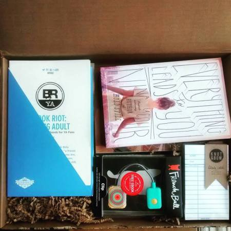 Book Riot YA Quarterly box 1