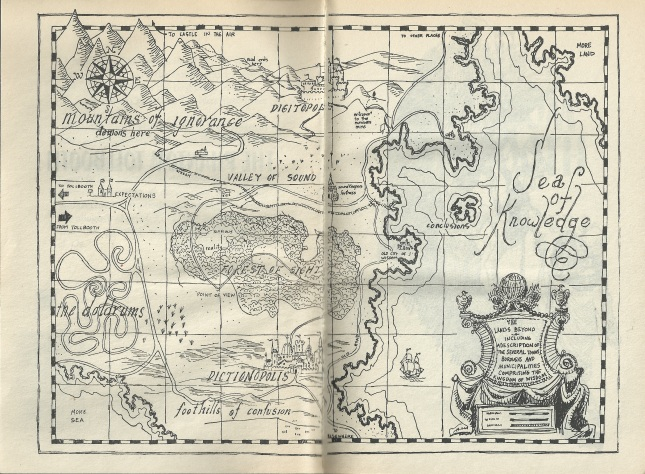 PhantomTollbooth map