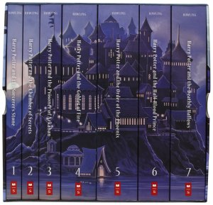 Harry Potter spines