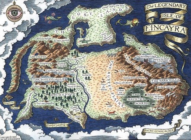 Merlin series map