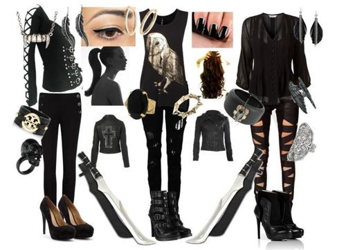 shadowhunter getup