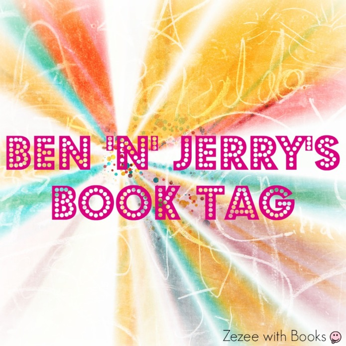 Ben n Jerry's Book Tag