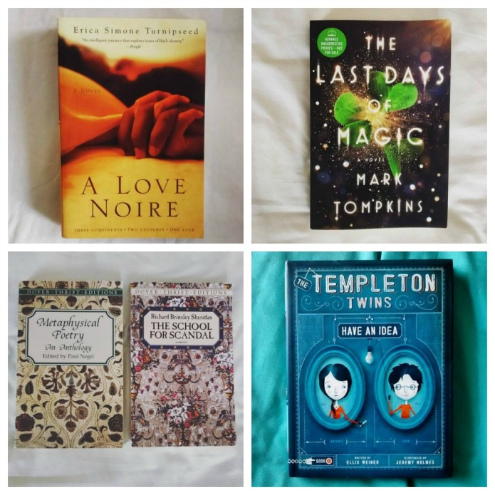 bookshelves collage