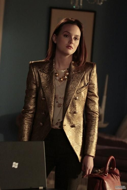 Blair gold blazer