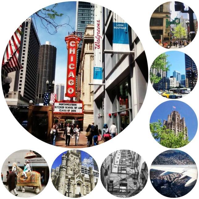 Chicago collage zezee
