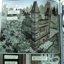 The illustration of the mansion is cool, not as detailed as I hoped but I like it.