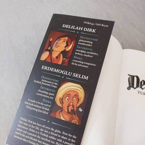 Delilah Dirk 1-1