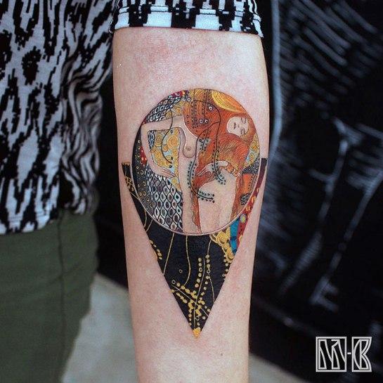 artistic-tattoos-gustav-klimt-3