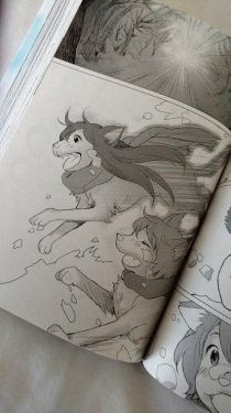 Wolf Children 1-4