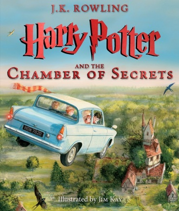 Harry Potter and the Chamber of Secrets illus