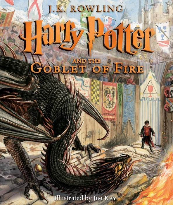 Harry Potter and the Goblet of Fire illus ed