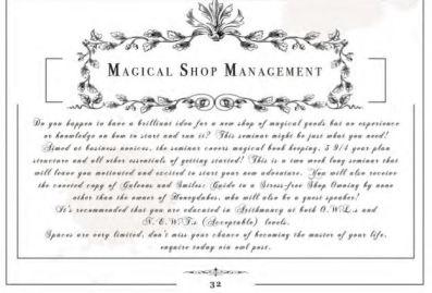 Book Roast Magical Readathon 2020 Magical Shop