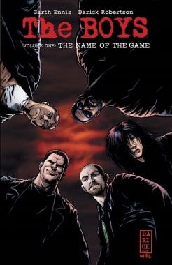 Boys Vol1 TPB Cover