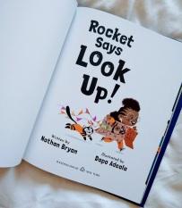 Rocket Says Look Up 1-5