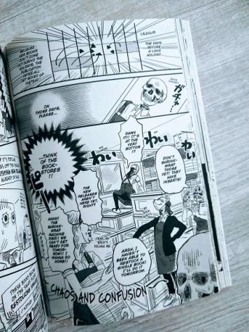 Skull-Face Bookseller Honda-san 1-5